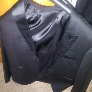 3 piece black tuxedo
